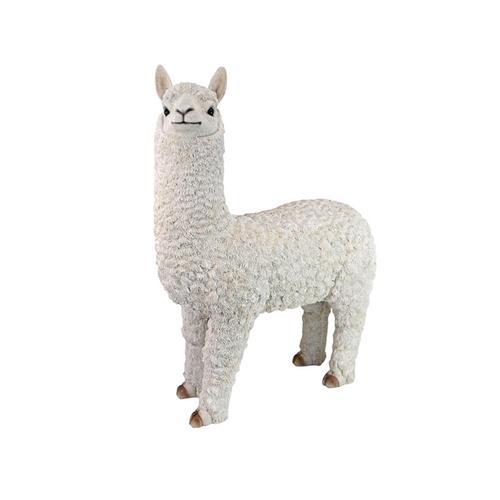 "24.5"" Large Medium Alpaca Outdoor garden Statue - IMAGE 1"