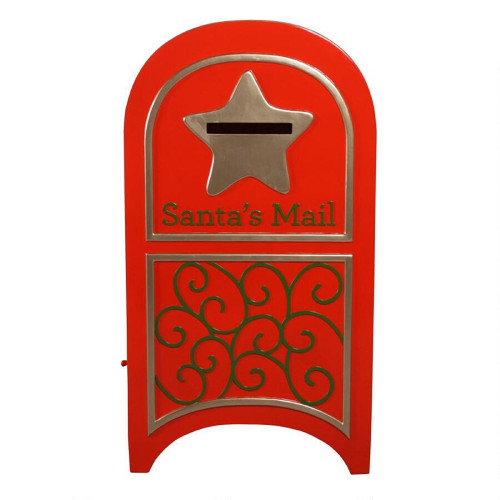 """44"""" Christmas Letters For Santa Mailbox - IMAGE 1"""