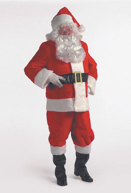 7-Piece Popular Rental Quality Christmas Santa Suit - Adult Size XXXL - IMAGE 1
