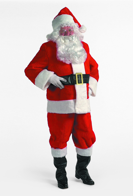 7-Piece Popular Rental Quality Christmas Santa Suit - Adult Size XXL - IMAGE 1