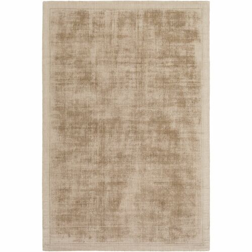 3' x 5' Gradient Patterned Brown Rectangular Area Throw Rug - IMAGE 1