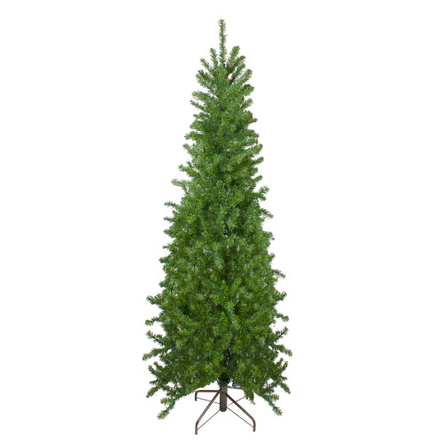 7.5' Canadian Pine Artificial Pencil Christmas Tree - Unlit - IMAGE 1