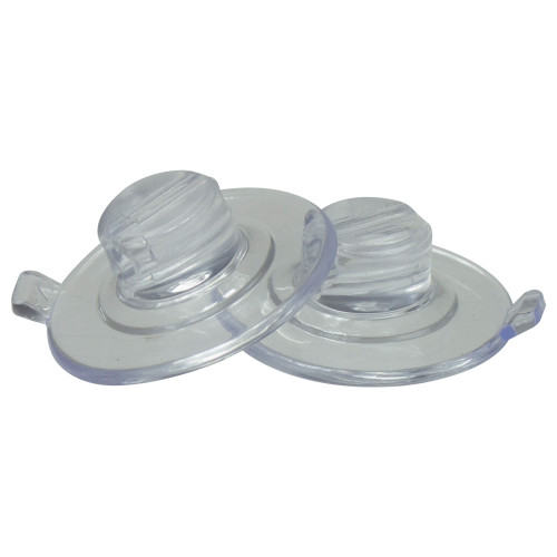 """Set of 20 Clear Suction Cup Christmas Light Clips - 1.5"""" - IMAGE 1"""