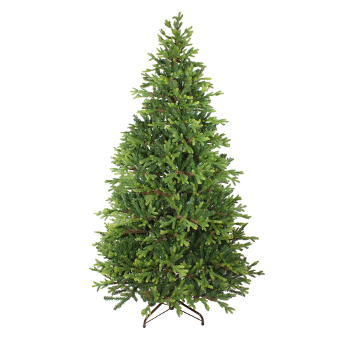 7' Two Tone Mixed Pine Artificial Christmas Tree - Unlit - IMAGE 1
