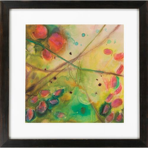 "Vibrant Color Giclee Square Wall Art Decor 27"" x 27"" - IMAGE 1"