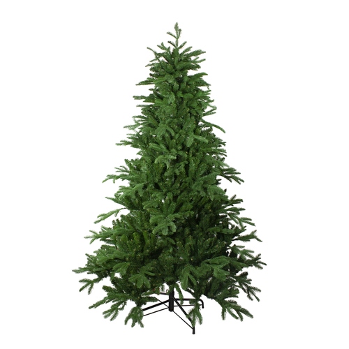 8' Noble Fir Artificial Christmas Tree - Unlit - IMAGE 1