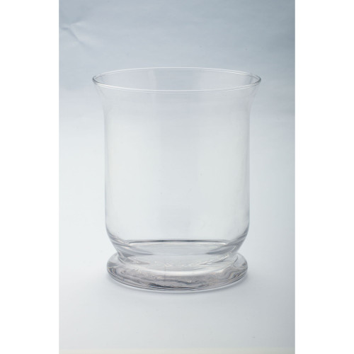 """8"""" Cylindrical Glencairn Flutes Hand Blown Glass Candle Holder - IMAGE 1"""
