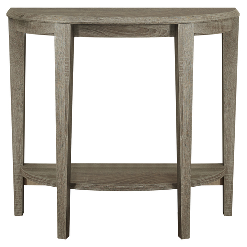 """36"""" Taupe Brown Accent Table with Sturdy Tapered Legs - IMAGE 1"""