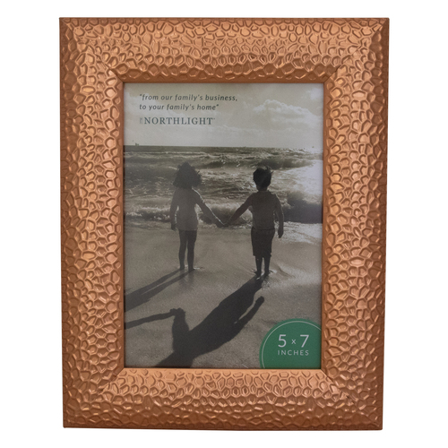 """9.5"""" Contemporary Rectangular 5"""" x 7"""" Photo Picture Frame - Brown - IMAGE 1"""