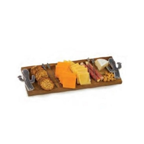 """17.5"""" Brown Foodie Bites Tray - IMAGE 1"""