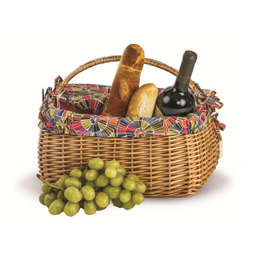 "14"" Brown Napa Basket - IMAGE 1"