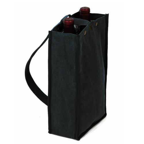 "14"" Black Silverado 2 Insulated Double Bottle Bag - IMAGE 1"