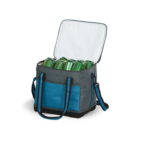 "12"" Teal Green and Grey Ranger Cooler Bag - IMAGE 1"