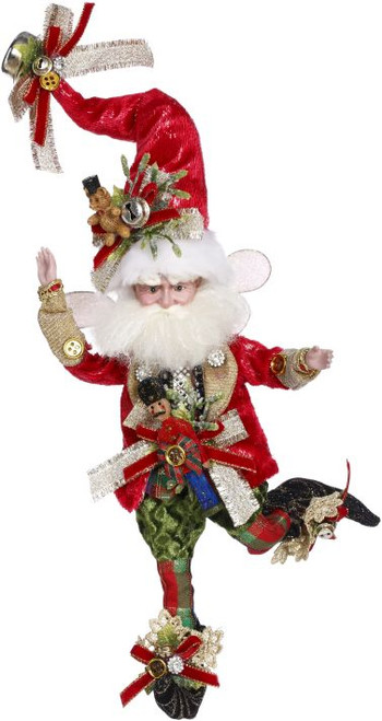 """10"""" Red and White Santa Claus Collectible Christmas Ornament - IMAGE 1"""