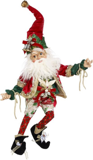 "17"" Red and White Mark Roberts North Pole Worlds Fair Christmas Elf  Figure - IMAGE 1"