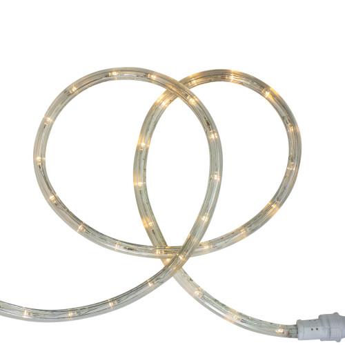 96' Warm White LED Flexible Christmas Rope Light - IMAGE 1