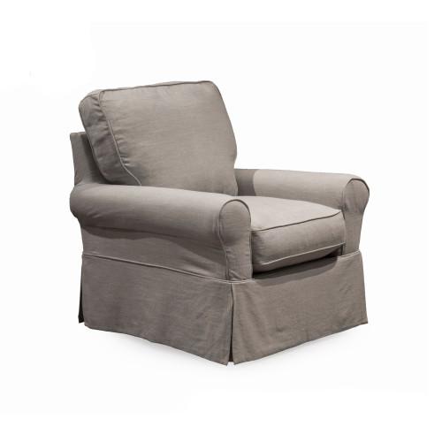 "Set of 3 Gray Sunset Trading Horizon Box Cushion Chair Slipcovers 36"" - IMAGE 1"