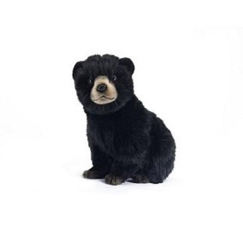 "Set of 3 Handcrafted Black Bear Cub Stuffed Animals 10"" - IMAGE 1"