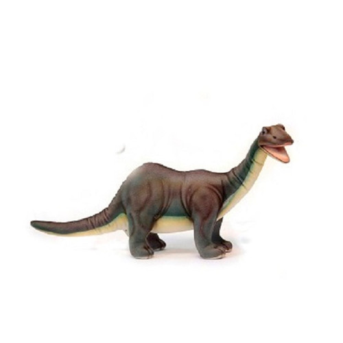 "Set of 4 Handcrafted  Brontosaurus Stuffed Animals 17.5"" - IMAGE 1"
