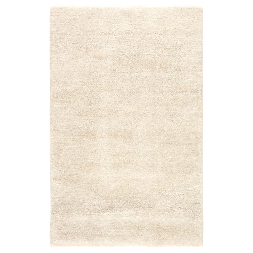 2' x 3' Beige Hand Knotted Rectangular Area Throw Rug - IMAGE 1