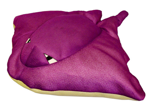 "30"" Cruz Seaside Rider Stuffed Floating Stingray Swimming Pool Pillow - IMAGE 1"
