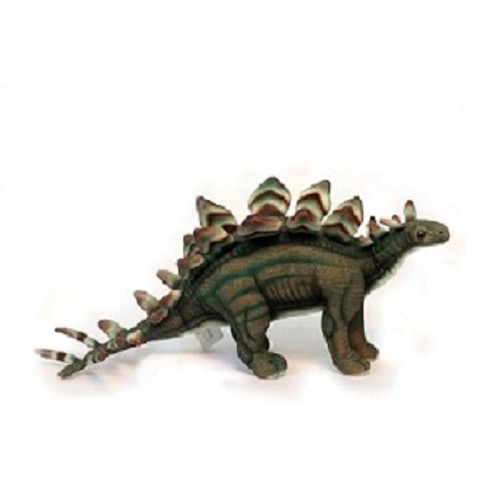 "Set of 3 Handcrafted Stegosaurus Stuffed Animals 16.5"" - IMAGE 1"