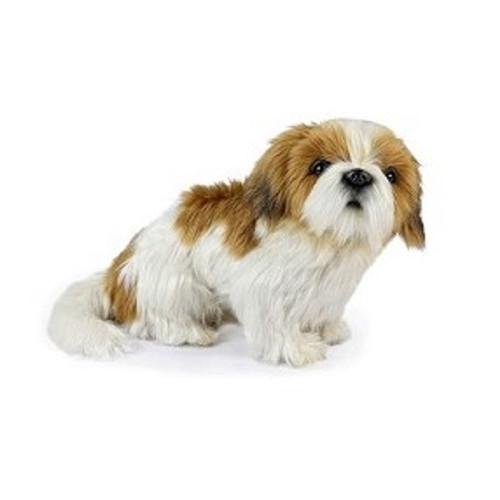 "Set of 3 Handcrafted  Shih Tzu Dog Stuffed Animals 11.75"" - IMAGE 1"