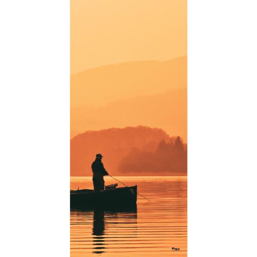 """36"""" x 80"""" Beige and Brown Nature Front Door Banner - IMAGE 1"""