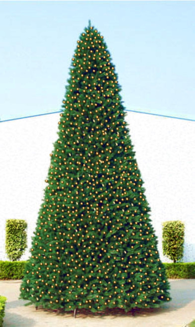 15' Pre-Lit Green Pencil Pine Artificial Christmas Tree - Clear Lights - IMAGE 1