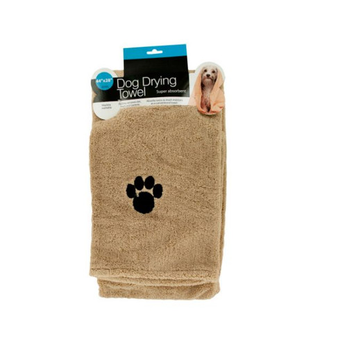 """Pack of 2 Brown Dog Drying Towel 44"""" - IMAGE 1"""