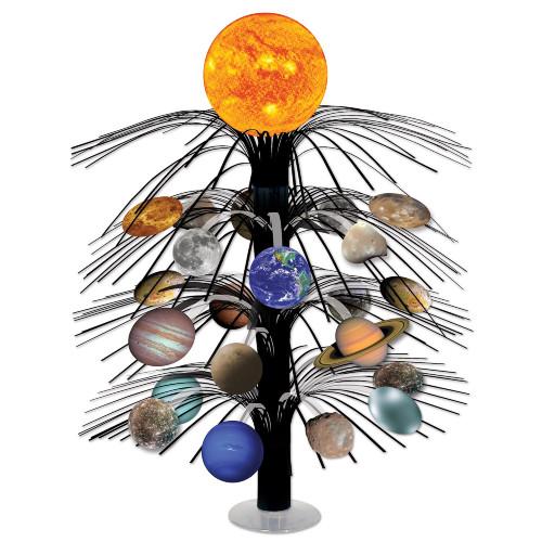 """Set of 6 Multicolor Solar System Cascade Centerpiece 18"""" - IMAGE 1"""