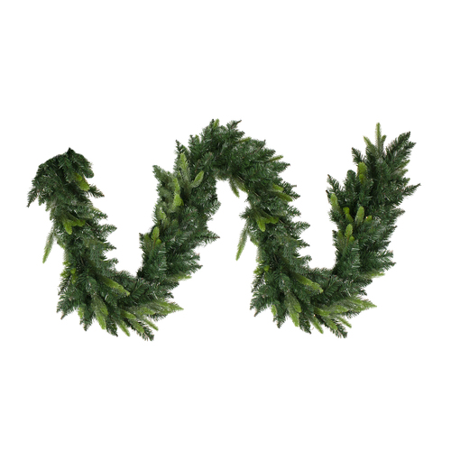 "9' x 10"" Gunnison Pine Artificial Christmas Garland - Unlit - IMAGE 1"