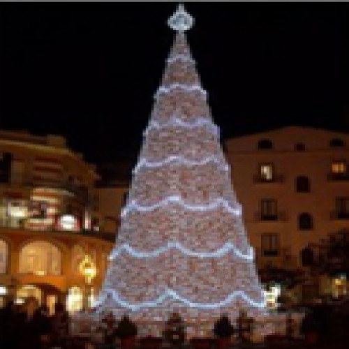 13.1' Pre-Lit Commercial Grade LED Christmas Cone Tree - IMAGE 1