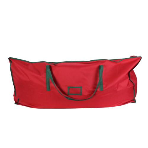 "43"" Red and Green Multipurpose Christmas Storage Bag - IMAGE 1"