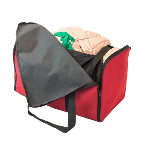 """23"""" Red and Black Inflatables Christmas Storage Bag - Fits Small to Extra Large Decorations - IMAGE 1"""