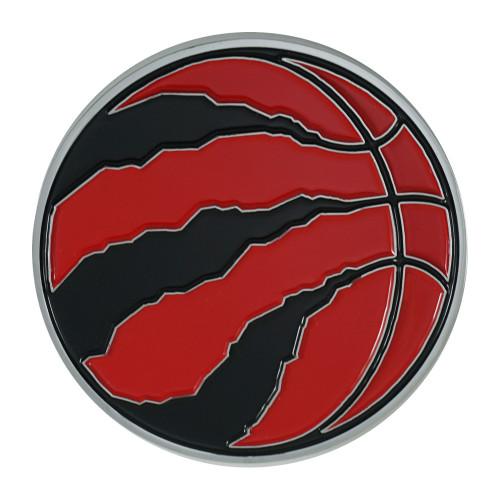 "3"" Red and Black NBA Toronto Raptors 3D Emblem - IMAGE 1"