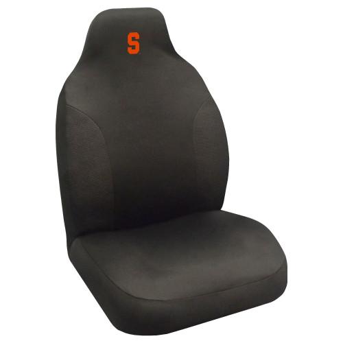"48"" Black NCAA Syracuse Orange Seat Cover - IMAGE 1"