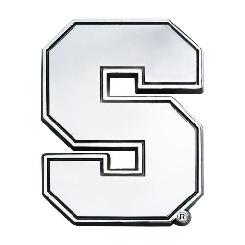 "3"" Stainless Steel and Black NCAA Syracuse Orange 3D Emblem - IMAGE 1"