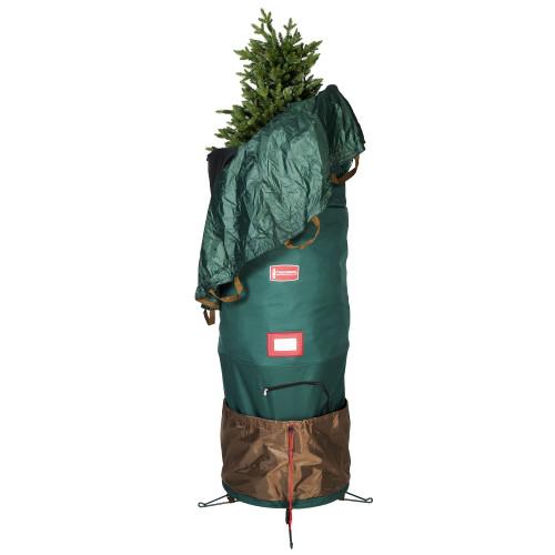 Large Adjustable Upright Christmas Tree Protective Storage Bag - Hold 7' Trees - IMAGE 1