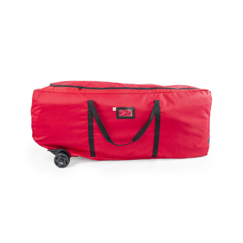 """56"""" Red EZ Roller Christmas Tree Storage Bag with Wheels - IMAGE 1"""