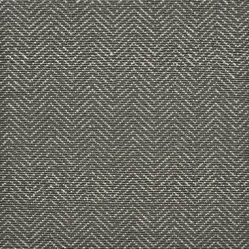 12' Gray and Ivory Dorchester Geometric Broadloom Round Area Throw Rug - IMAGE 1