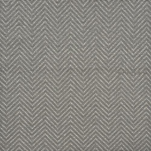 12' Blue and Ivory Harding Geometric Broadloom Round Area Throw Rug - IMAGE 1