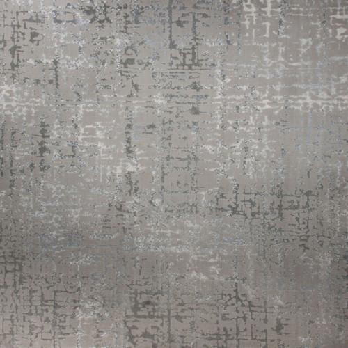 3' x 10' Omega Abstract Design Beige and Ivory Broadloom Rectangular Rug Runner - IMAGE 1