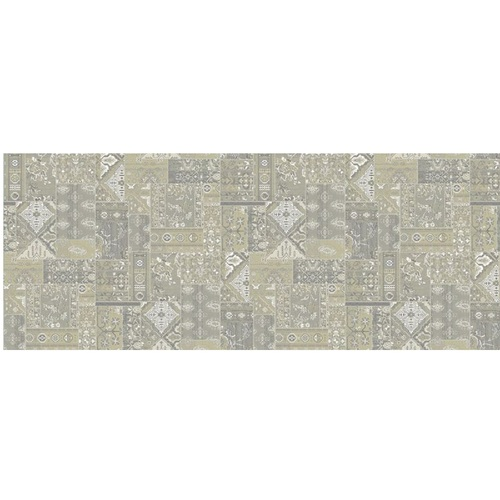 13' x 15' Philosophy Solution Dyed Gray and Ivory Rectangular Polypropylene Area Rug - IMAGE 1