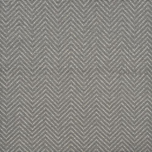 6' Blue and Ivory Harding Geometric Broadloom Round Area Throw Rug - IMAGE 1