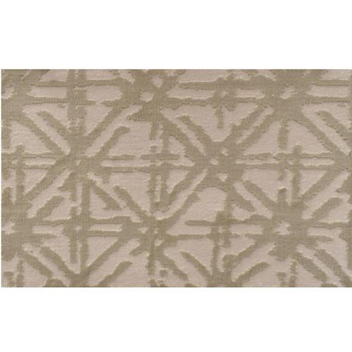 12' x 12' Genesis Geometric Lattice Pattern Beige Square Polypropylene Area Rug - IMAGE 1