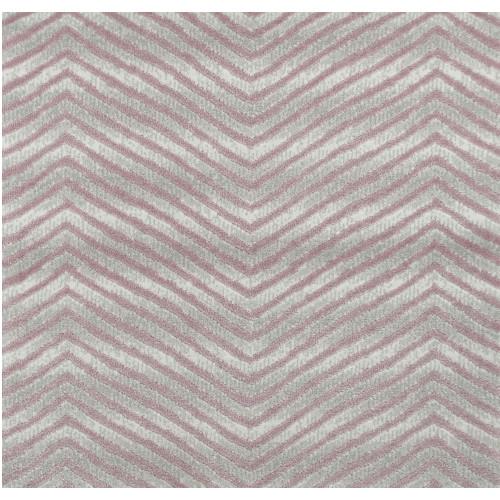 3' x 15' Purple and Gray Chevron Rectangular Area Throw Rug Runner - IMAGE 1