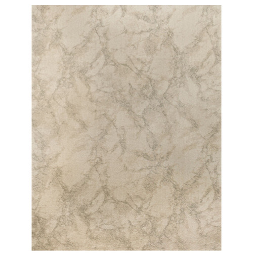 3' x 20' Carrara Abstract Design Ivory and Gray Broadloom Rectangular Polypropylene Rug Runner - IMAGE 1