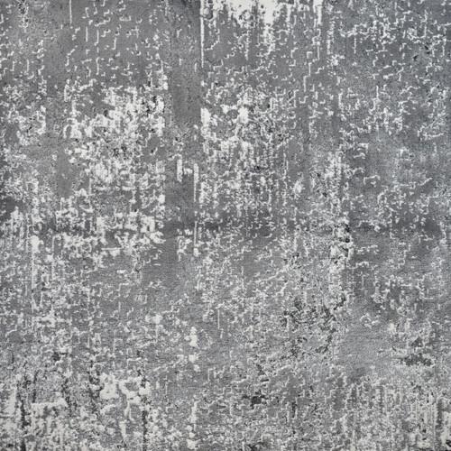 13' x 15' Gray and Ivory Rectangular Woven Area Throw Rug - IMAGE 1