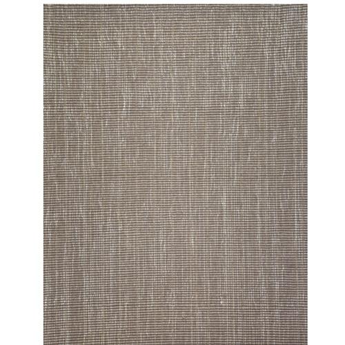 8' x 11' Beige and Ivory Broadloom Rectangular Wool Area Throw Rug - IMAGE 1